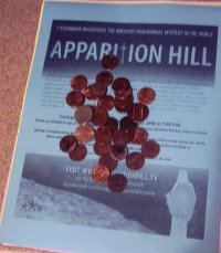 Pennies on the Apparition Hill flier